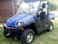 We are Selling our 4x4 Bennche It's a 2012 with only 80