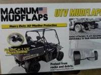 I have for sale a brand new set of Magnum mudflaps for