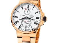 1186-122-8M/40 Ulysse Nardin This watch has 45.00 mm