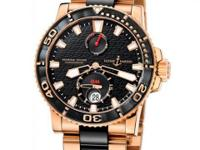 266-33-8C/922 Ulysse Nardin This watch has 42.70 mm 18k