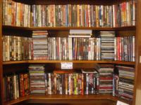 Have over 300 DVD's to choose from.  $3 each or Two