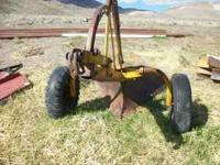 I have a V-Plow on wheels for sale. Please respond to