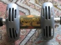 PUSHUP STANDS (pair). non slip. $10 the pair POWER TEK