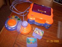 Vtech V-smile system with games (Finding Nemo--Nemo's