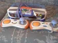 I have a like new V-Tech V-Motion game console with 2