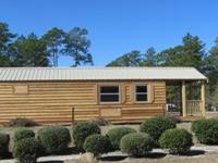 This cabin is built by Pinnacle Park Homes and is