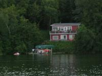 Cabin located on Stuart Lake, Clitherall, MN... East of