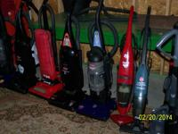 VACUUMS ALL BRANDS, BAGGED AND BAGLESS,