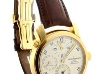 Vacheron Constantin Malta Dual Time Regulator 18k Mens