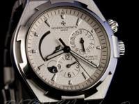 Pre-owned Vacheron Constantin Overseas Dual Time