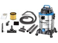 The Vacmaster 6 gallon stainless steel wet/dry vac is