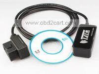 1) VAG COM 11.11 diagnostic cable Supports Measuring