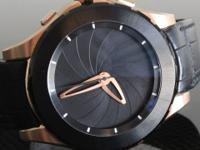 REFERENCE VR01A MATERIALS 18 Kt Red gold Stainless