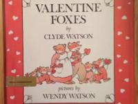 Brand New! Gift Quality! Valentine foxes Hardcover