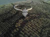Nice valentines day present,..14k gold 1/4 k marquise