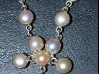 REAL PEARLS! BRAND NEW! NEVER WORN! JUST took it out of