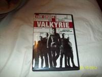 "Viewed only once. ""Valkyrie"" DVD with case. . . asking"