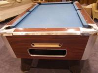 Valley Cougar, 7 Pool Table - Valley has constructed a
