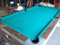 VALLEY BAR BOX POOL TABLE ELDORA For Sale In Waterloo Iowa - Valley bar box pool table