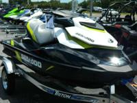 ONLY 25 HOURS! Like-New 2016 Sea-Doo GTI SE 130