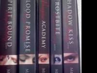 Books 1-5 of the Vampire Academy series. 4 paperback