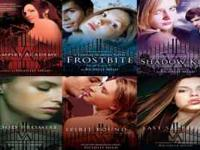 Vampire Academy six book series. First three are in