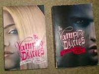 2 vampire diaries books 10 buck each 2 for 15$ The fury