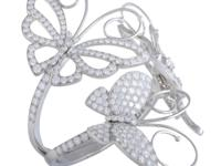 This uniquely stylish bracelet by Van Cleef u0026amp;
