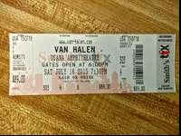 I have one Van Halen ticket for the show at USANA