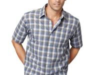 Stock up with this handsome shirt by Van Heusen with