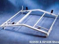 Heavy duty Steel double Grip-Down Ladder Rack. Securely