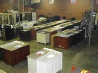 WE HAVE OVER 50 VANITIES TO CHOOSE FROM. THESE VANITIES
