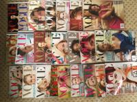Vogue Magazines (2004-2011) Bazaar Magazines GQ