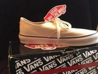 Vans Classic White Lace-up Sneakers. Brand new! Never