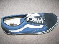 Two pairs of Vans tennis shoes. Excellent condition.