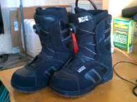 VANS ENCORE BOOTS SIZE 7 WITH BOQ LACING SYSTEM CALL