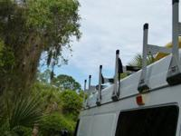 Sprinter 2002-06 HighTop H1 aluminum roof racks I have