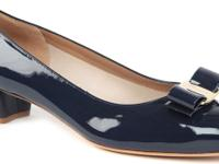 Two pairs of NEW Vara by Ferragamo shoes (Navy and