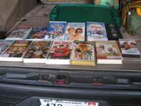 ********* I am selling a set of VHS Movies---Large