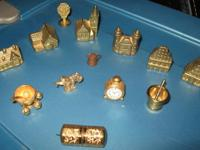 Hi!  We have a Nice Variety of Vintage Brass Miniature