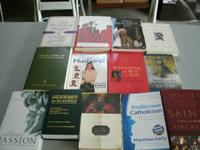 VARIOUS CATHOLIC BOOKS FOR SALE; ALL IN GOOD CONDITION