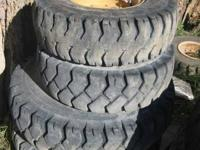Used Forklift Tires For Sale $50 each. Sizes/Quantity.