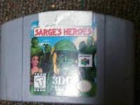 Army Men: Sarge's heroes. _ $5. Oddworld Munch's