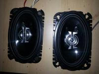 Any offers rate.  (2) JVC 4x6 front door speakers,