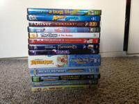 Numerous made use of kids DVDs for sale. Everything is