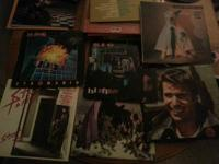 I have a wide range of LP's from various artists and