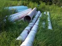 Various size pipe from 24inch to 4 inch pipe great for