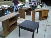 We have various tables for sale $5-15 Call for more