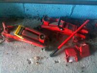 2 Hydraulic Jacks - 2 Ton Capacity - $80 Each - $145