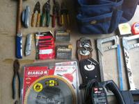 A collection of tools for sale. I will list the